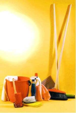 קח מטאטא וטאטא את התא. צילום: אלי דסה