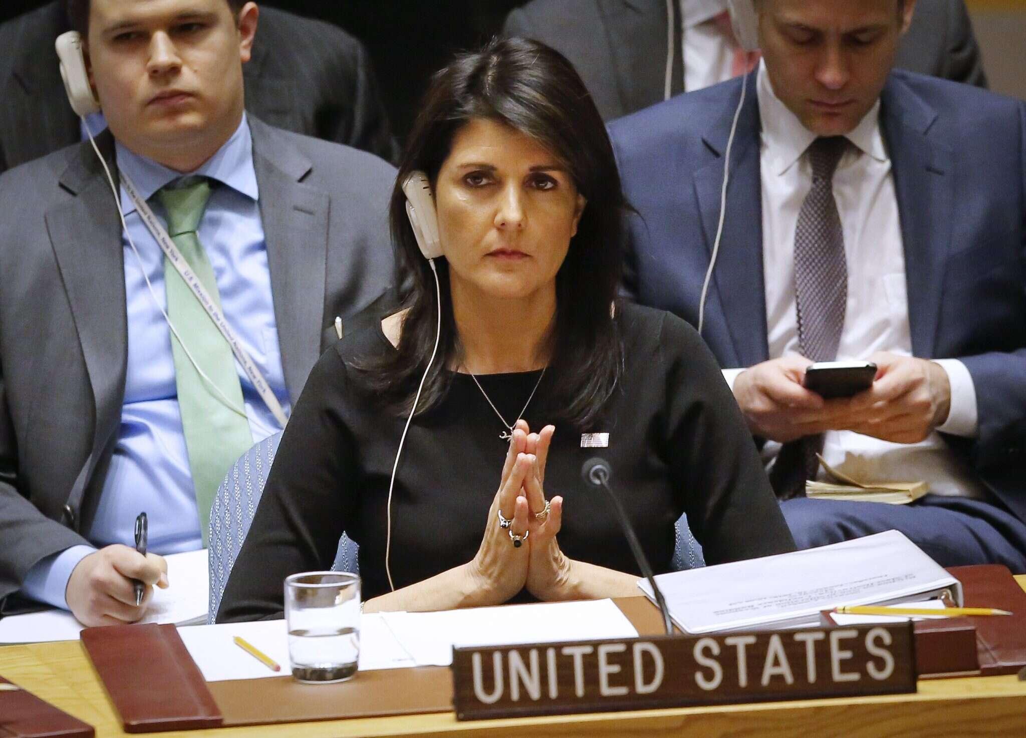 דיפלומטים משוכנעים: ניקי היילי מכוונת לנשיאות - מקור ראשון
