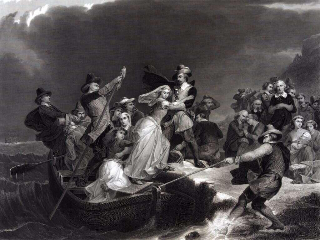 המסע הימי הסוער שנחשב לרגע הולדתו של העם האמריקני - מקור ראשון